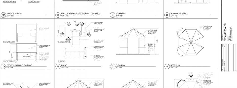 Architectural & Engineering Drawings are complete!